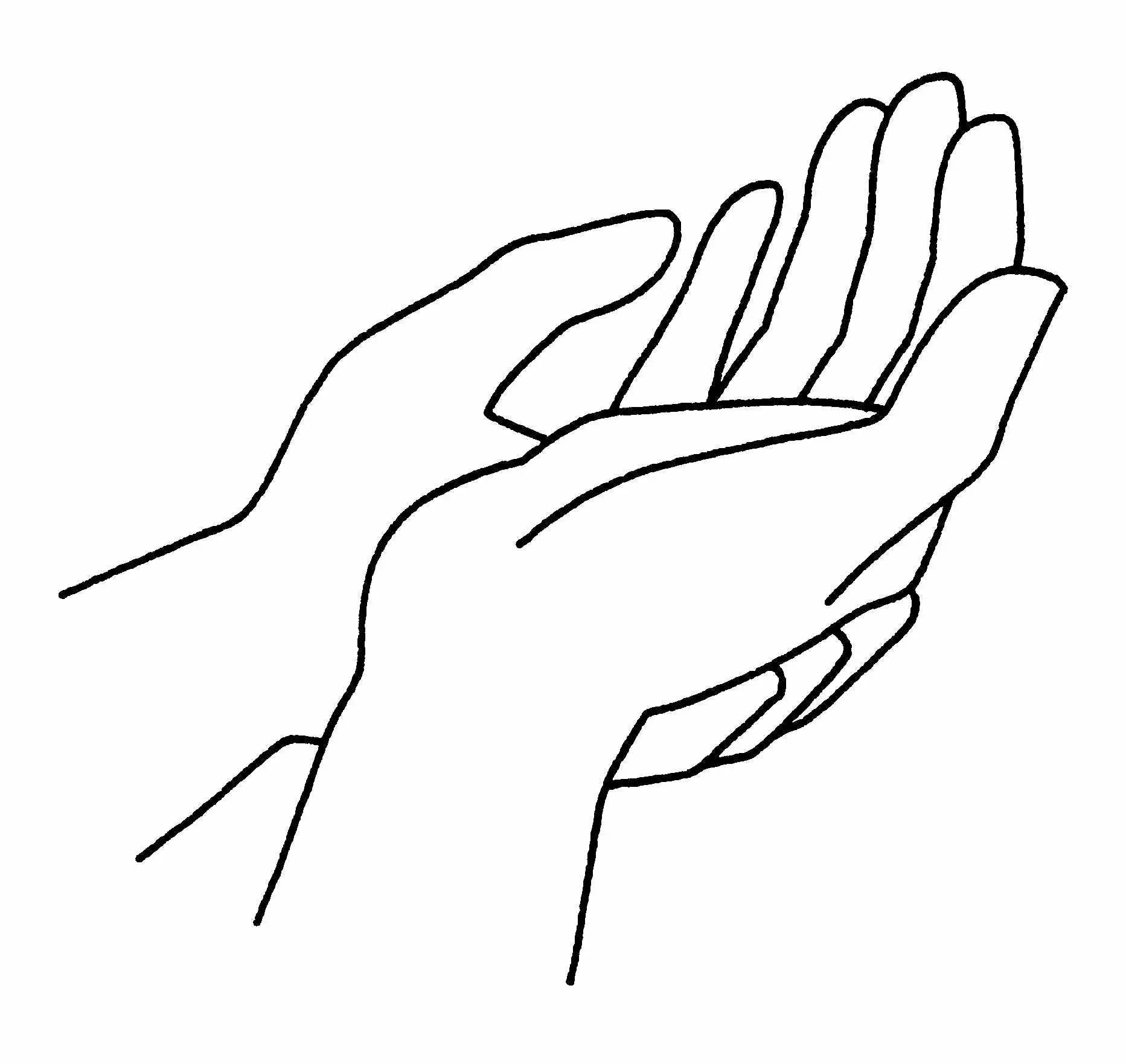 La couleur des mots les mains de ma grand m re - Dessin de mains ...